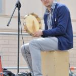 Società dei Musici: Spoleto piazza della Libertà - 25 Aprile 2013