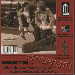 """Copertina CD """"Deragliamenti"""""""