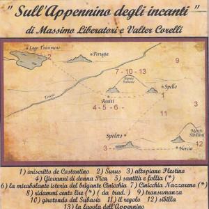 """Copertina CD """"Sull'appennino degli incanti"""""""