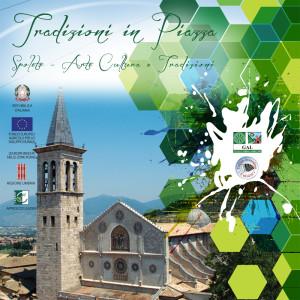 """Copertina CD """"Tradizioni in piazza"""""""